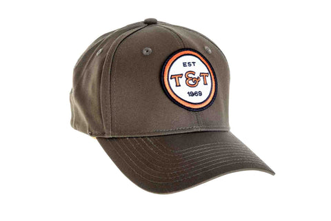 The T&T fitted badge icon hat is Flex Fit and comes in two different sizes.