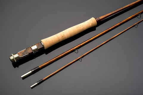 Thomas and Thomas individualist series custom bamboo fly fishing rod.
