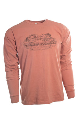 Thomas and Thomas vintage Greenfield, MA long sleeve shirt.