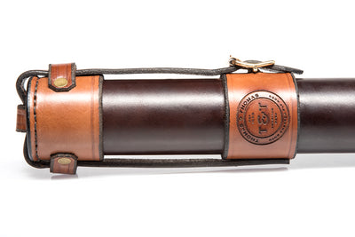 T&T Leather Bamboo Rod Tube