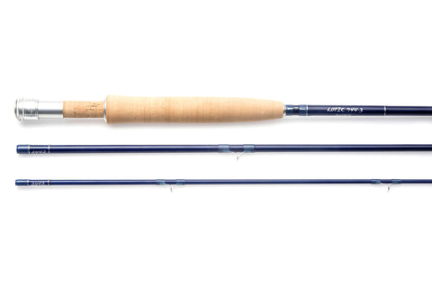 Thomas and Thomas 3 piece Lotic fiberglass fly rod.