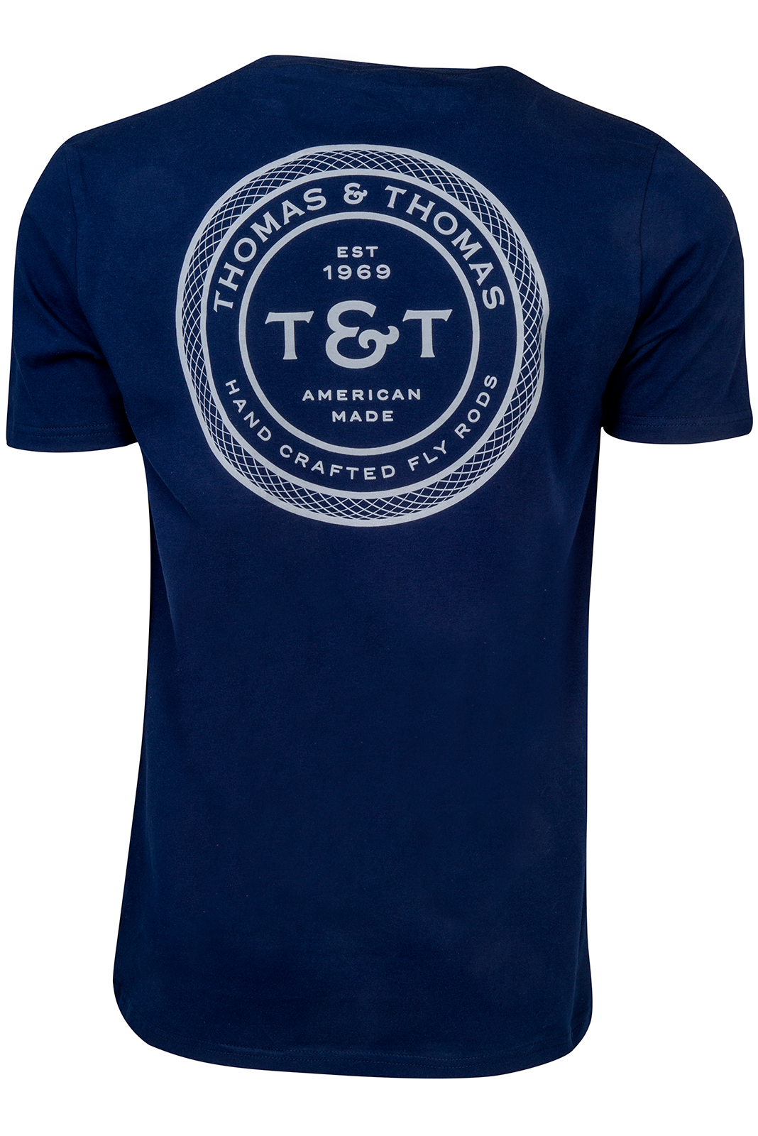 T&T Signature Pocket T-Shirt - Navy Blue