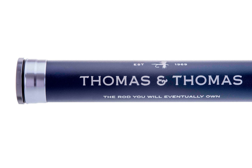Thomas and Thomas logo rod tube