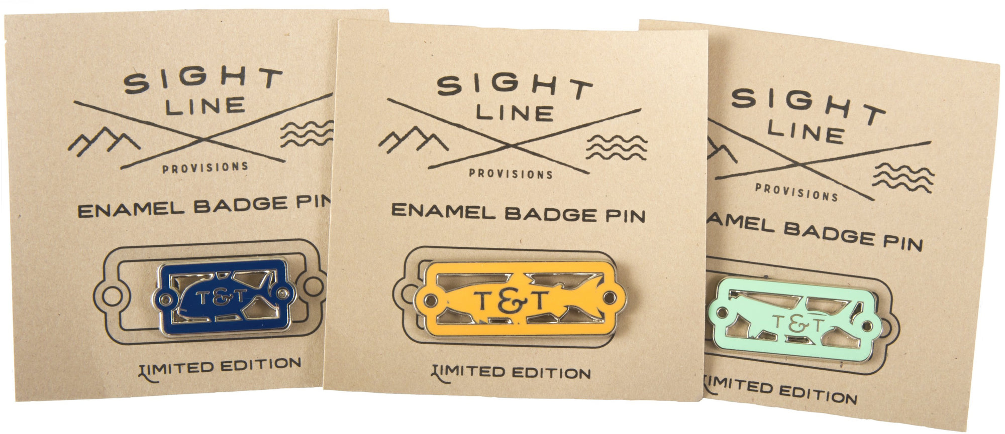 T&T X Sight Line Provisions Pins