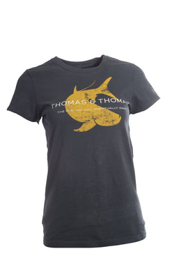 Thomas and Thomas women's saltwater tarpon short sleeve tee.
