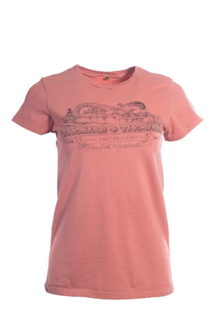 Thomas and Thomas women's vintage Greenfield, MA short sleeve tee.