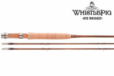 Thomas & Thomas WhistlePig Whiskey Special Edition bamboo fly rod