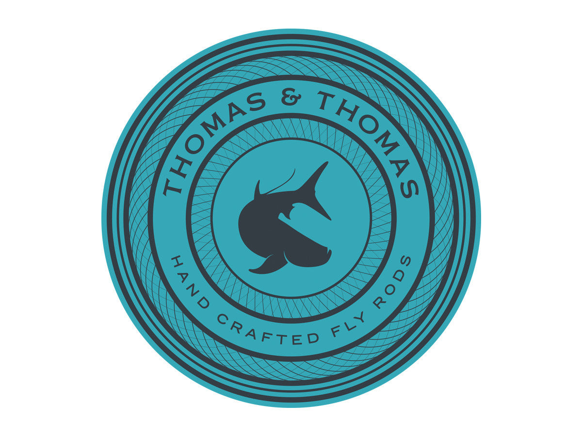 T&T Badge Sticker - Classic, Tarpon, Dry Fly