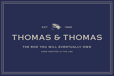 Thomas and Thomas rectangle uv coated decal.