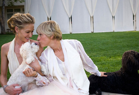 Ellen and Portia Wedding Day