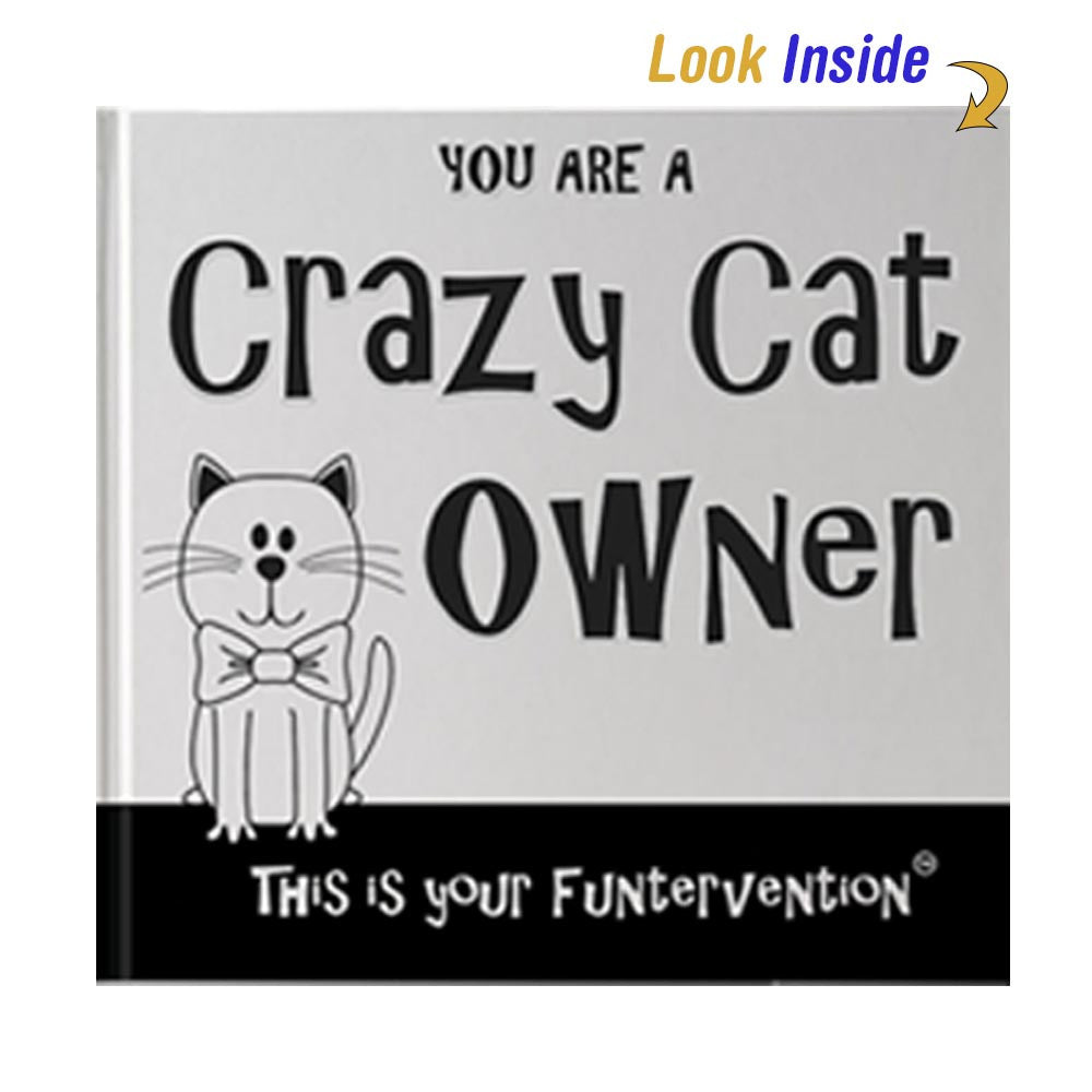 Crazy Cat Owner Book