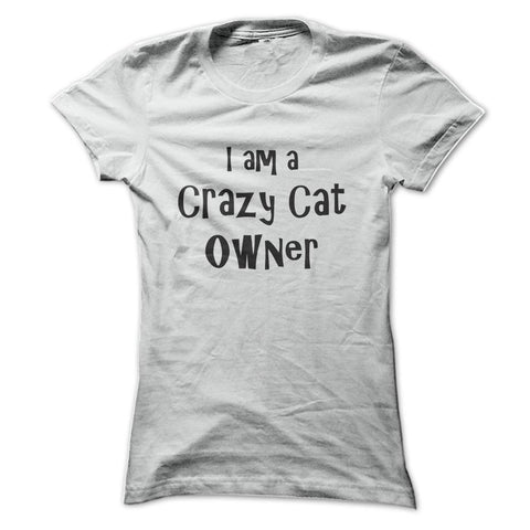 Crazy Cat Owner T-Shirt