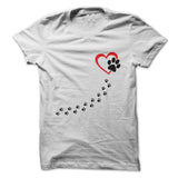 My Heart Belongs To My Dog T-Shirt