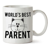 World's Best Cat Parent Mug