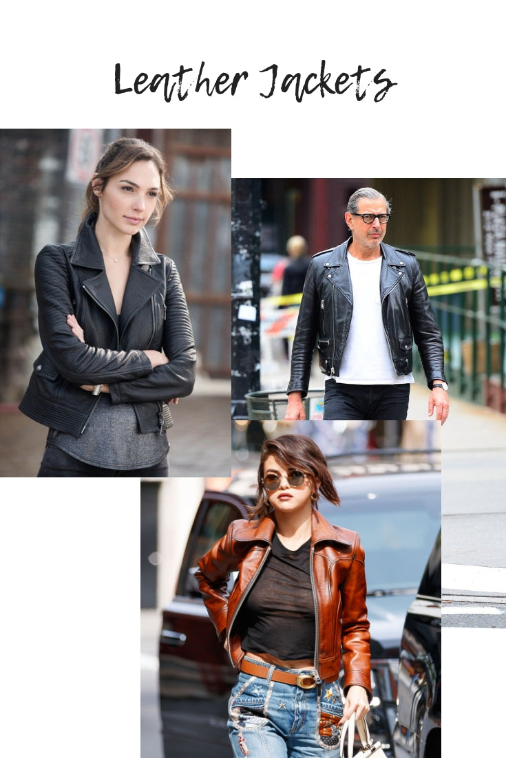 cool leather jackets for a fun autumn wardrobe