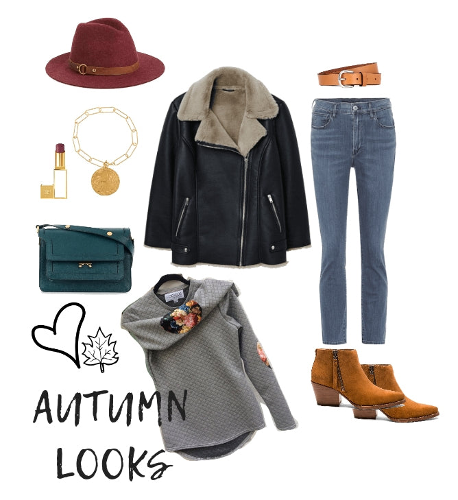 autumn looks with leather jacket how to make your fall wardrobe more fun