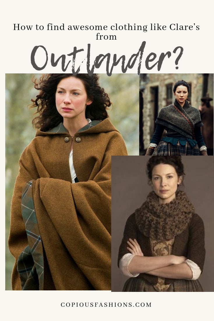 61806828399 When fall or winter rolls around do you ever gaze upon Clare s outfits with  envy  Sometimes I stare at the beauty and style of Claire Randall Fraser  the way ...