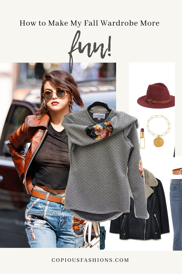 How to Make My Fall Wardrobe More Fun