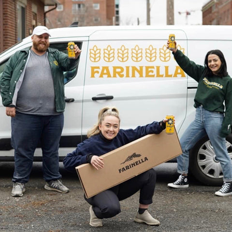 Farinella Team, Ottawa Pizzeria and Gelato Restaurant