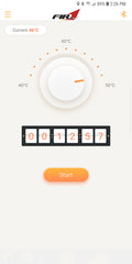 Fired Up Temperature Control for Apple IOS Devices (Available Now Only on the Apple App Store)