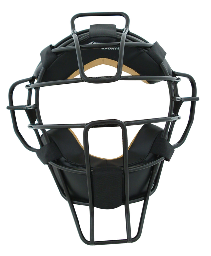 Pro-Plus Super-Lite Umpire Mask Leather Biofresh Pad System