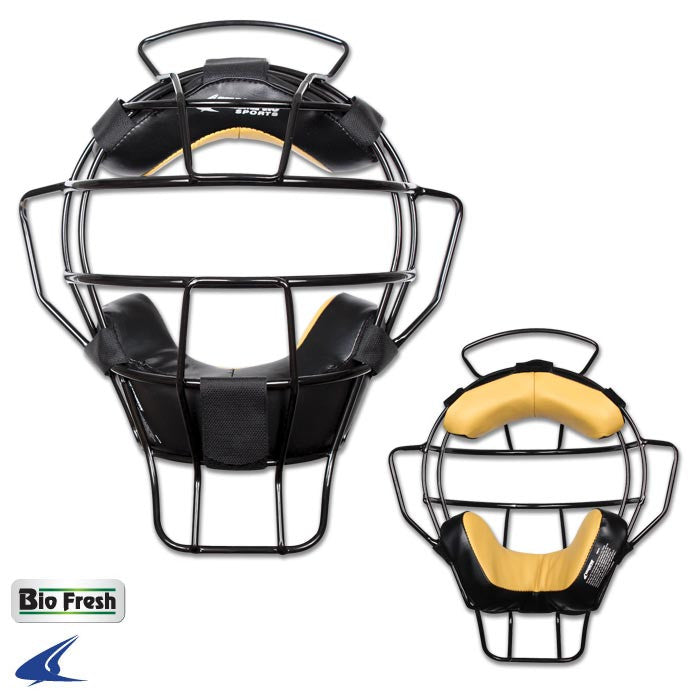 PRO-PLUS ALUMINUM LIGHTWEIGHT UMPIRE MASK - BIO-FRESH