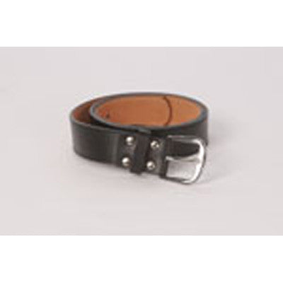 "Leather 1 1/2"" Black Belt"