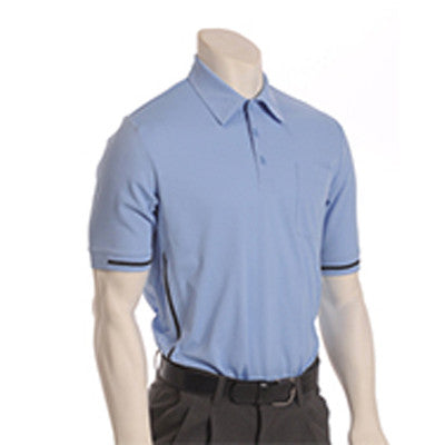 Major League Style Self-Collared Short Sleeve Umpire Shirts