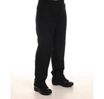 Women's 100% Black Dacron Polyester Pants with Western Cut Pockets