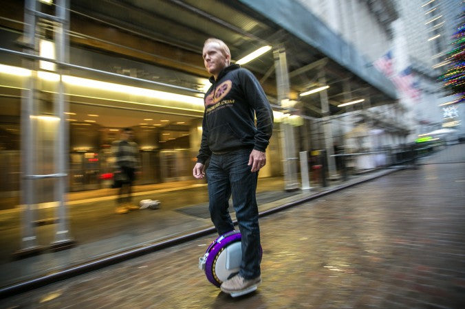 Are hover boards/ electric unicycles legal in New York City?
