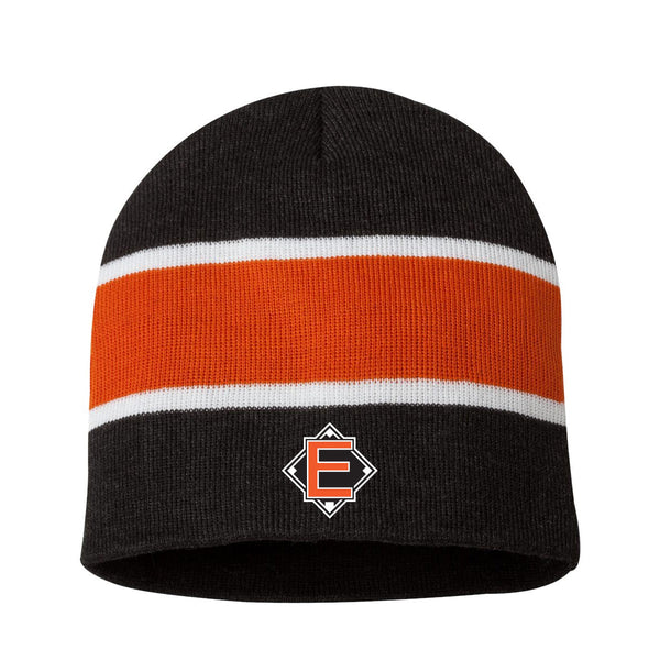 Elite - Striped Knit Beanie