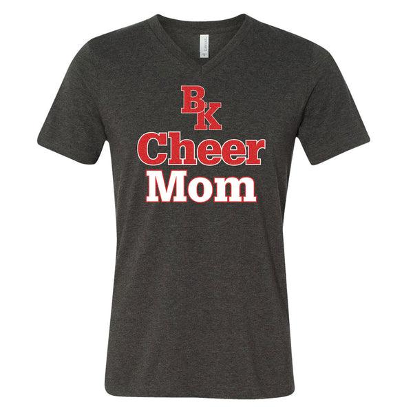 Bishop Kelley Cheer 2018-19 Mom V-Neck T-Shirt