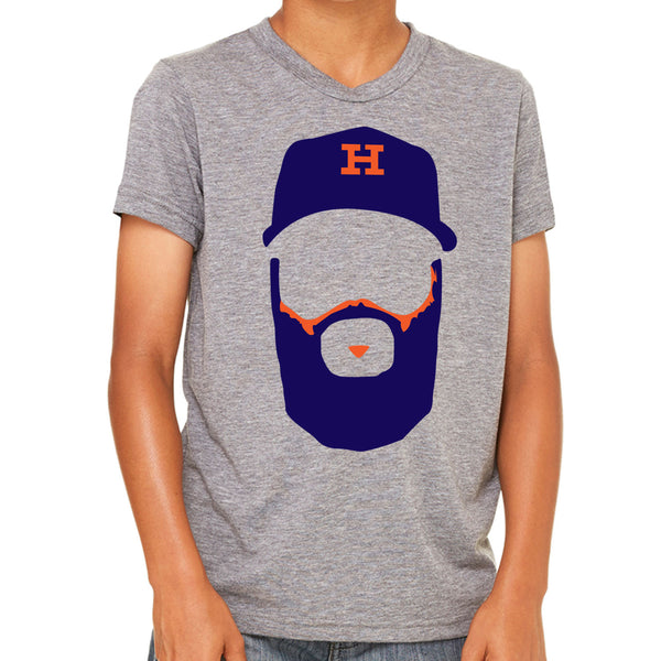 Keuchel Beard Youth T