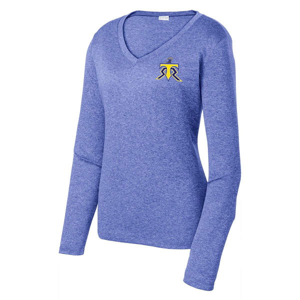 WRSS16 - Sport-Tek® Ladies LS Heather Contender™ Tee