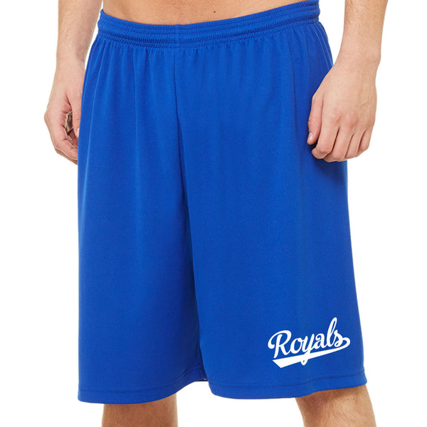 "Royals17 - All Sport for Team 365 Unisex Mesh 9"" Short"