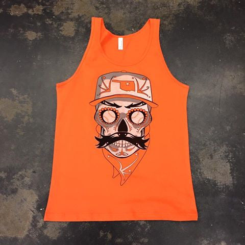 Sugar Skull Baseball Pete Tank