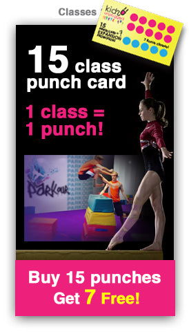 15 CLASS Punch Card +7 promotion