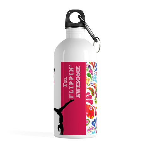 Kids Unplugged GYMNASTICS Stainless Steel Water Bottle