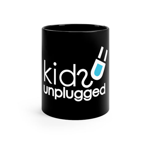 Kids Unplugged Black mug 11oz