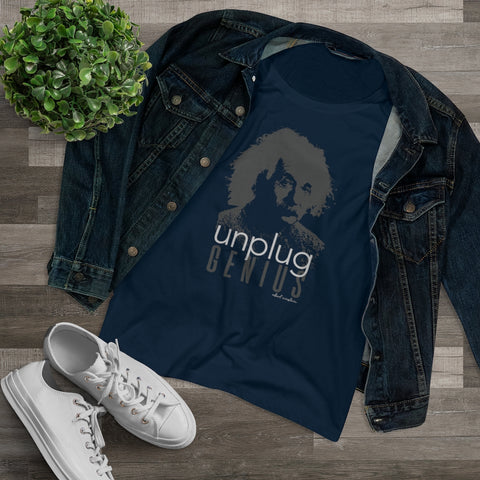 Unplug Genius- Women's Tee