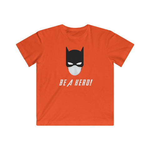 Batman, Be a Hero- Kids Tee