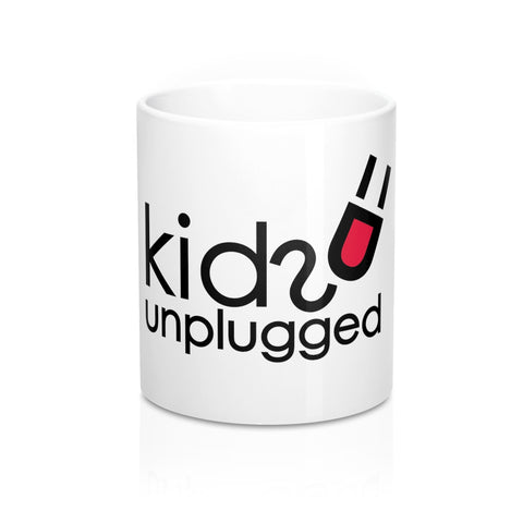 White Kids Unplugged Mug