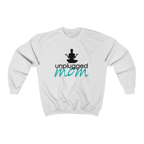 Unplugged Mom- crewneck sweatshirt
