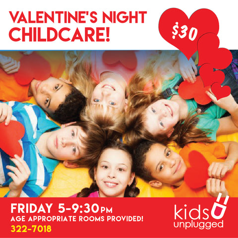 Parent's Night Out: VALENTINE'S DAY!!