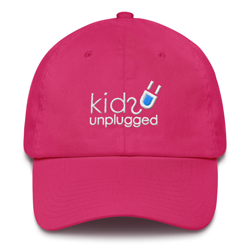 Kids Unplugged Pink Cotton Cap