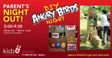 June 15th:   DIY Angry Birds!