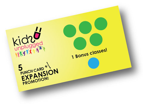 5 CLASS Punch Card +1 promotion