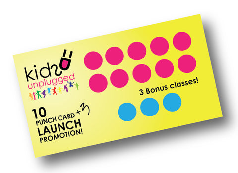 10 CLASS Punch Card +3 promotion