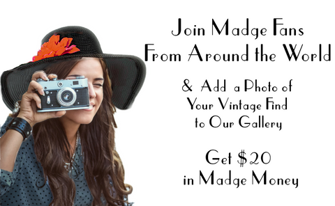 Send us your Madge Photo