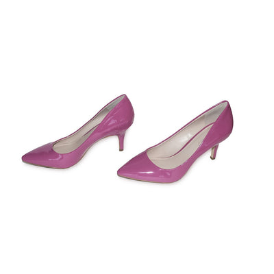 BCBGeneration High Heel Pump, Pink Patent Leather 3